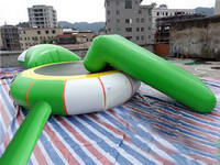 New Design Inflatable Water Trampoline Combos for Rental