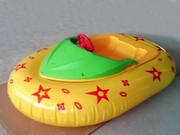 Yellow Aqua Bumper Boat for Water Pool Games