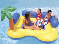 Happy Island Inflatable Boat