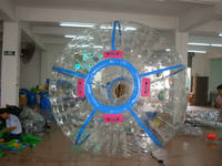 Durable Color Strips Zorb ball for Amusement Park