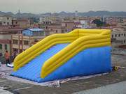 Hot Selling Inflatable Zorb Slide for Carnival