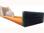 55 Foot Inflatable Slide for Crazy Zorb Ball Sports