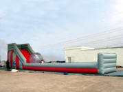 82 Foot Inflatable Slide for Crazy Zorb Sports