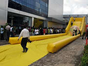 Commercial Grade Inflatable Zorb Ramp