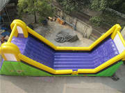 Giant Inflatable Slide for Crazy Zorb Sports Park