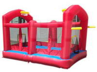 Inflatable Smoby Jump and Bounce Castle for Party Rental