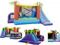 Inflatable Water Slide Combo Moonwalk House For Children