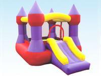 Exciting and Interesting Inflatable Bouncing Jump and Slide