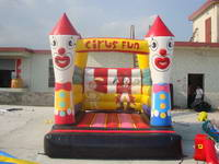 Funny Clown Inflatable Bouncer Jumping House