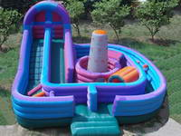 Kids Inflatable Bouncer Slide Combos with Climbing Wall
