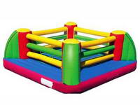 Fantastic Fun Large Square Inflatable Bouncy Boxing Ring for Adults