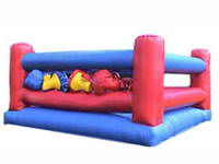 Inflatable Bouncy Boxing Ring Fantastic Fun for ages 7 - Adults