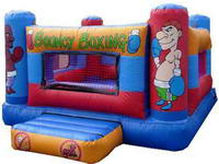 Hot Selling Inflatable Bouncy Boxing Ring with Digital Printing for Sale
