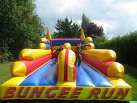 New Style Durable Inflatale Rocket Ship Bungee for Promotion Events
