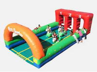 Inflatable Derby Pony Hops Race Track Game