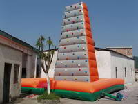 25 Foot Vertical Mobile Inflatable Rock Climbing Wall for Sale