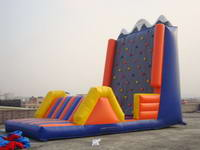 2 Groups Inflatable Rock Climbing Wall