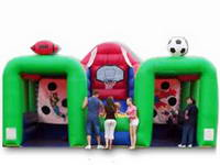 3 In 1 Inflatable Goal Sports Center Games