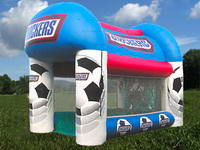 Football Appearance Inflatable Kick Center Game