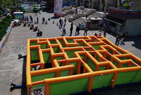New Inflatable Labyrinth Maze for sale