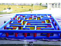 Good Quality 0.45mm PVC Tarpaulin Inflatable Maze for Sale