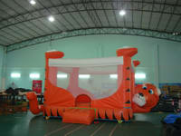 Hello Kitty Kids Inflatable Tiger Bouncer for Party Rentals