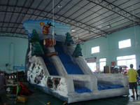Excellent Full Color Digital Printing Inflatable Jungle Slide