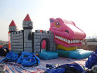 Inflatable Snappy Dragon Castle CAS  97-2