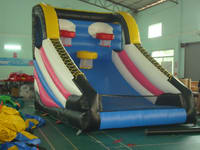 Basketball Challenge Two Lane Basketball Toss Inflatable Game