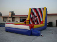 Funnest Inflatable Velcro Sticky Wall with Velcro Suits