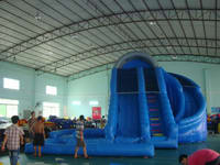 Inflatable Corkscrew Water Slide WS  76