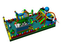 New Arrival Undersea World Inflatable Fun City for Sale