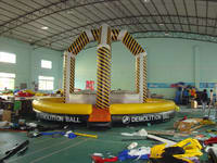 Custom Inflatable Wrecking Wall Sports Games Adventure