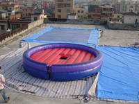 5m Diameter Safe Inflatable Mattress for Mechanical Bull