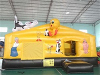 Disney Cartoon Bounce House
