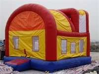 Inflatable Choo Choo Train Party Bouncer for Rentals