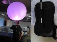 Fireproof Event 0.18mm thickness PVC Inflatable Backpack Balloon for Advertising