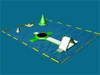 Aqua Green Bounce n