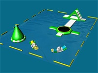 Aqua Green Super Bounce n