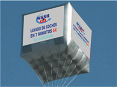 Multi-Color Printing Square Balloon for Sales Promotions