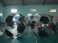 Good Quality Durable 0.8mm TPU Water Soccer Ball for Rentals