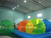 Good Quality CE Approval Reinforced Full Color Water Balls for Reantals