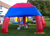 Durabe Leisure Inflatable Dome Tent for Family Party Use