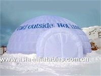 Customized Double Layers Inflatable Dome Tent for Sale