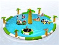 CE Certificate Durable Inflatable Water Fun Parks for Sale