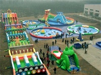 2017 Durable and Creative Inflatable Water Fun Parks for Rentals