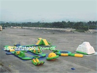 Commercial Grade Aqua Inflatable Water Parks 5 for Rentals
