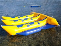High Quality CE Approval 0.9mm PVC Tarpaulin Inflatable Flying Fish Boat for Sale