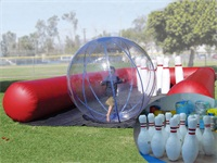 New Design Party Rentals Inflatable Human Bowling Ball for sale