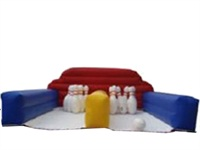 Good Quality CE Approval Inflatable Human Bowling Game for Party Rentals
